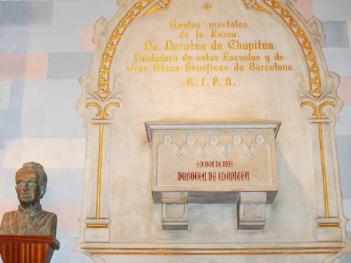 Sepulcro de la Venerable. Fuente: www.sdb.org