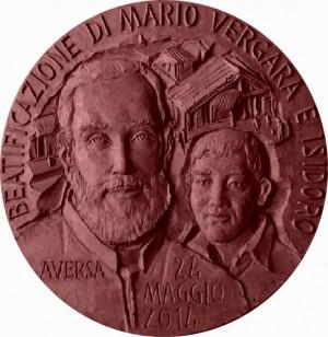 Diseño de la medalla conmemorativa de la beatificación.