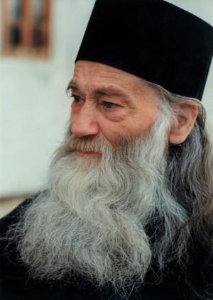Fotografía del padre Iustin Pârvu.