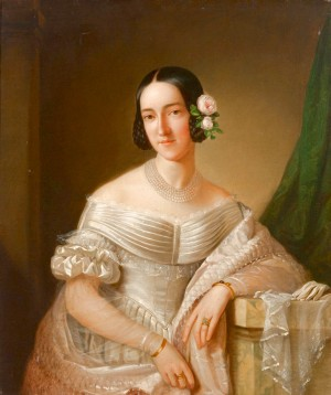 Lienzo de la Beata María Cristina de Saboya.