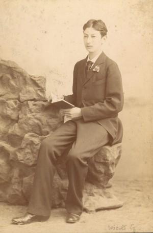 Fotografía del Beato en su juventud.