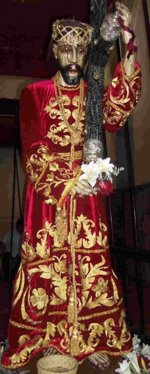 Ntro. Padre Jesús de las Tres Caídas, Templo de Sn. Pedrito, San Pedro Cholula, Puebla (México).