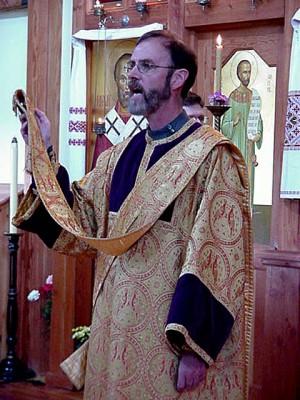 Diácono de rito bizantino.
