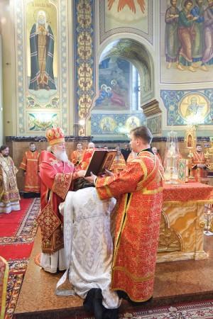 Ordenación de un sacerdote.