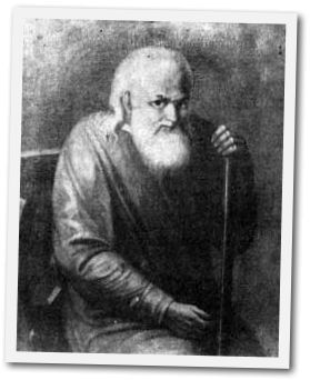 Retrato del Santo.