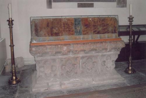 Presunta tumba de San José de Arimatea en Glansbury, Reino Unido.
