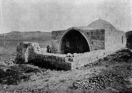 Tumba de José antes de 1899 . Monte Ebal.