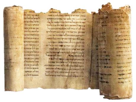 Antiguo pergamino del Libro de Enoc.