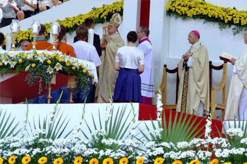 Ceremonia de la beatificación.