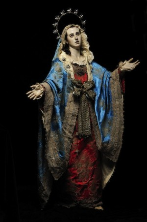 Dolorosa de Francisco Salzillo. Museo Salzillo, Murcia (España). Foto de J. Zamora.