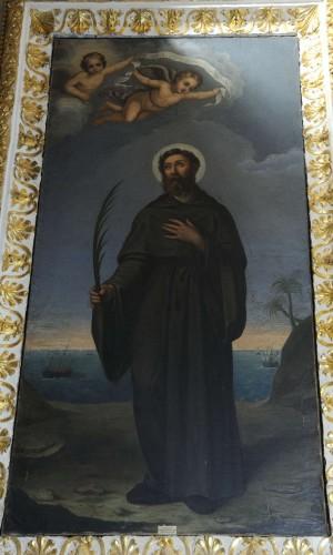 Lienzo del Santo. Diócesis de Civita Castellana.