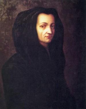 Retrato de la Santa, anónimo de 1699. Congregación de las Maestras Pías Venerini.