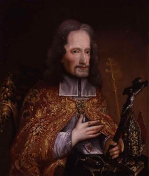 Retrato del Santo, obra de Edward Luttrell.
