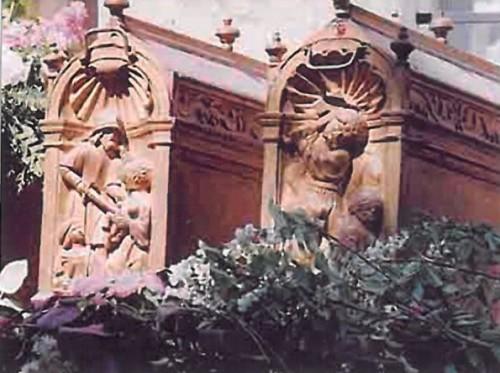 Reliquias de la Santa en Jouarre, Francia.