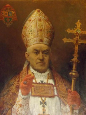 Retrato del Beato, revestido como arzobispo de Toledo. Fotografía: David Garrido.