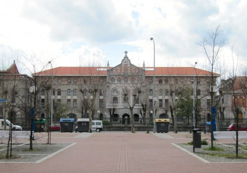 Fotografía del nuevo seminario construido por el Beato.