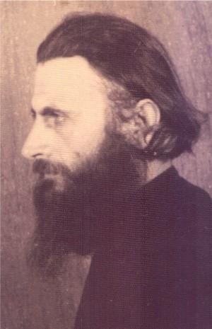 Fotografía del padre Arsenio Boca durante su estancia en prisión.