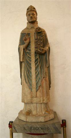 Imagen del Santo. Museo de la Basílica de San Eustorgio, Milán (Italia).