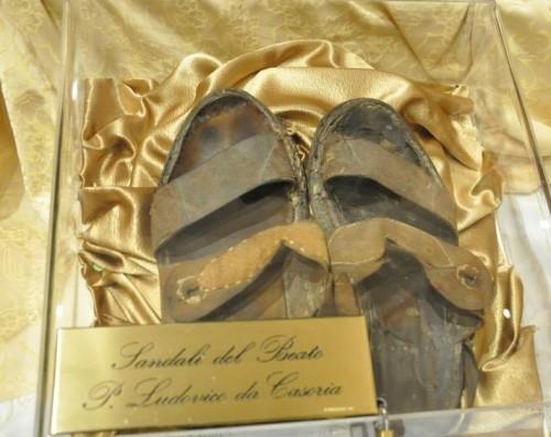 Sandalias del Santo.