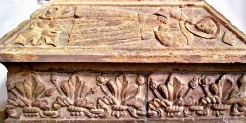 Arca antigua del Beato Gonzalo de Lagos. Torres Vedras, Portugal.
