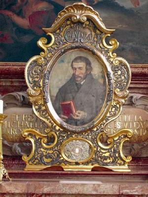 Pintura-relicario en la residencia de los jesuitas en Innsbruck (Austria).