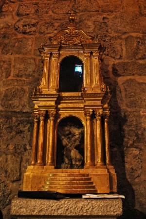 Reliquias de San Antíoco de Sulcis en Carbonia, Iglesias, Cerdeña.