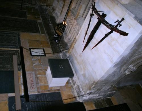Lugar donde fue asesinado.