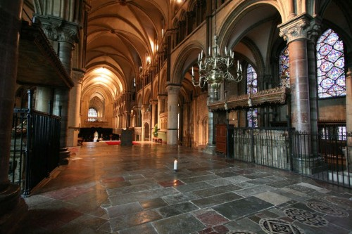 Lugar donde estuvo sepultado desde el 1220 al 1538. Catedral de Canterbury, Reino Unido.