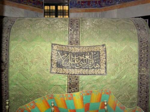 """Cenotafio de Jacob en """"la tumba de los Patriarcas"""". Hebrón, Palestina"""