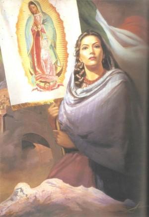 "Jaime Sadurni, óleo/tela,""Dios y Patria"", 1957, Museo Soumaya."