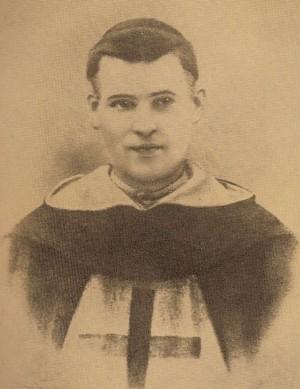 Fotografía del joven padre Domingo.