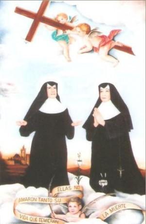 Las dos Beatas mártires de la casa-asilo de Requena, Valencia (España).