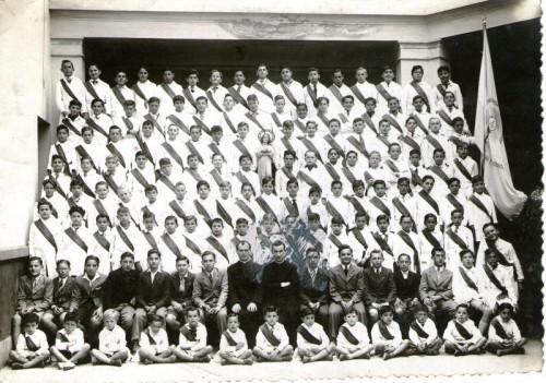 Congregación de los niños Tarcisios (1940).