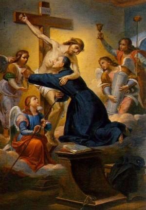 El Santo, místico de la Pasión de Cristo.