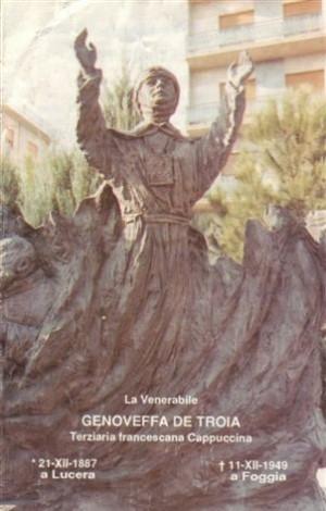 Monumento a la Venerable Genoveva de Troia.