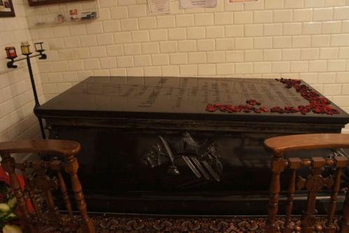 Sepulcro del Vble en ña Casa Madre. Fotografía: David Garrido.