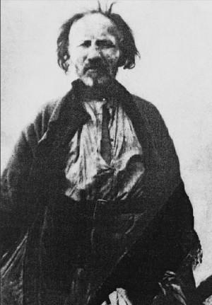 """Foto de San Bartolomé Bondarenko, """"loco por Cristo"""" del siglo XX."""