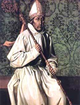 Tabla del Santo, obra de Nuño Gonçalves, siglo XV. Museo Nacional de Lisboa, Portugal.