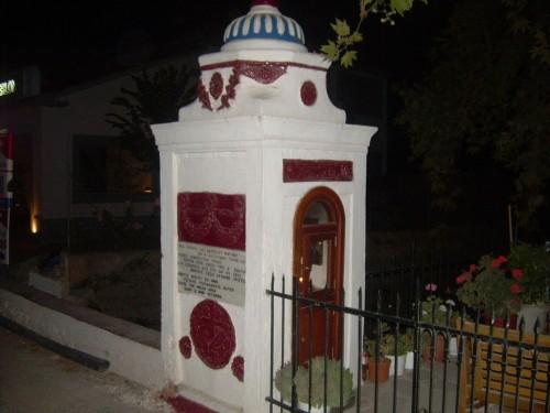 Lugar donde fue martirizado el santo.