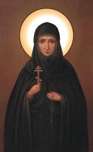 Icono ortoxo ruso de la Santa.