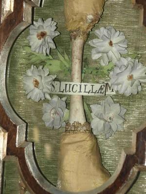 Reliquia insigne de Santa Lucila. Jaroslaw, Polonia.