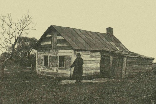 Casa de la Santa en Kolyupanovo.