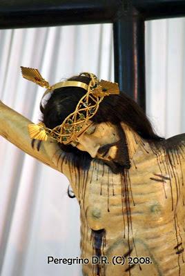 Otro detalle del busto de la imagen. Fotografía: Peregrino Zapopano.