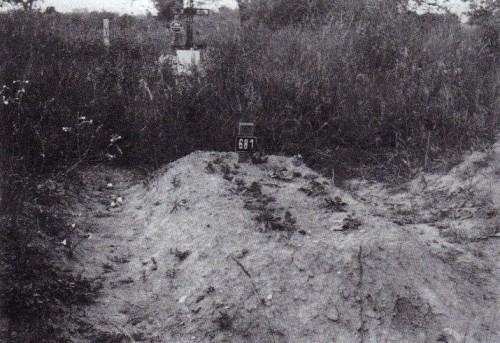 Primera tumba en la prisión de Leopoldov.