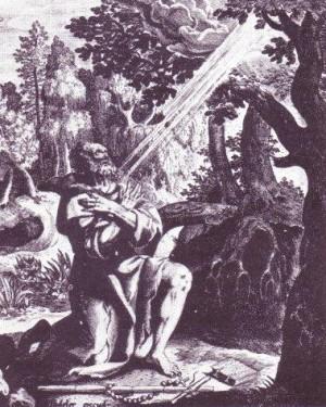 San Apolo (Apolonio) de Bawit, abad.