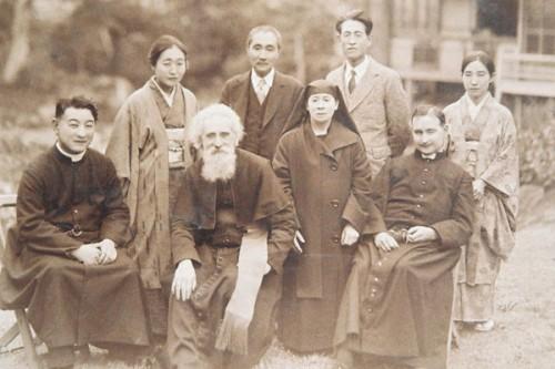 Fotografía del Beato durante su viaje a Japón en 1936.