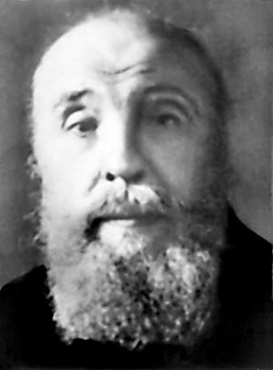 Foto del santo en el año 1950.