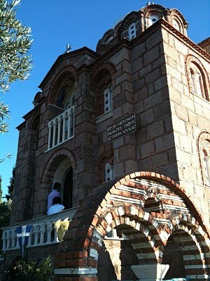 Iglesia de San Lucas en Mitilene.