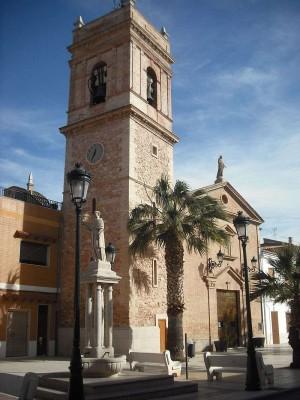 Iglesia de Albuixech, Valencia (España).