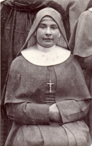 Foto de la beata en el 1914.